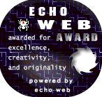 Echo Web Award is presented by echo web. Visit http://echodev.com and see if your site has what it takes.